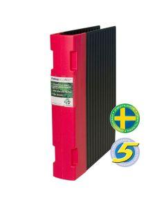 Gaffelpärm KEBAecolite A4 55mm röd