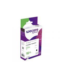 Bläckpatron WECARE EPSON 16XL Svart