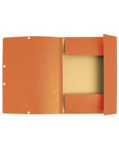 Gummibandsmapp EXACOMPTA 3-kl ECO orange
