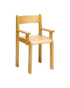 Barnstol med armstöd sitthöjd 30cm