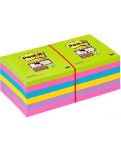 Notes POST-IT SuperSticky Rainbow76x76mm
