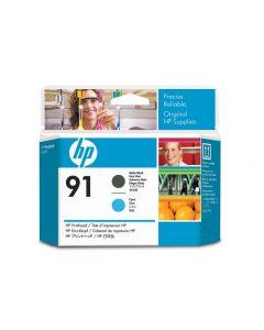 Skrivhuvud HP C9460A 91 Mattsvart/Cyan