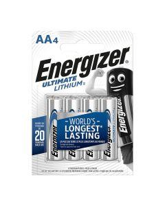 Batteri ENERGIZER Ultimate AA 4/FP