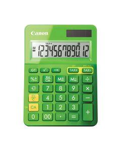 Miniräknare CANON LS-123K Grön