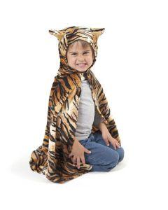 Maskerraddräkt Tigercape