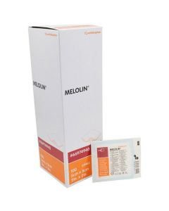 Kompress Melolin steril abs 5x5cm 100/FP