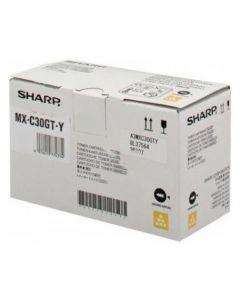 Toner SHARP MXC30GTY gul