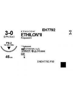 Sutur ETHILON 3-0 FS-2 45cm 36/FP