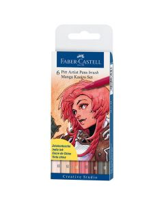Fiberpenna Pitt Artist Manga Kairo 6/FP