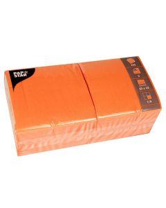 Servett 3-lags 33x33cm orange 250/FP