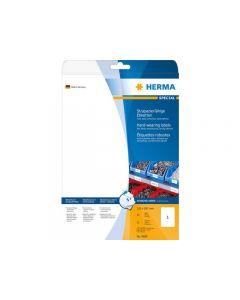 Etikett HERMA Slitstark 210x297mm 25/FP