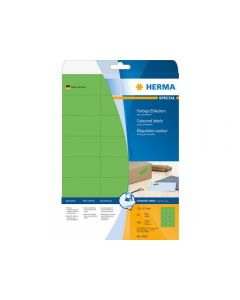 Etikett HERMA Färg grön 70x37mm 480/FP