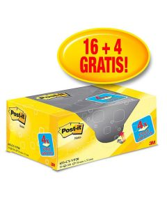 POST-IT Notes Value Pack 38x51mm/100 bl
