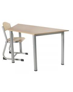 Skolbord FLEX 140x70cm höjd 72-74,5cm