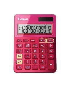 Miniräknare CANON LS-123K Rosa