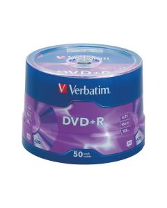 DVD+R VERBATIM 4,7GB 50/FP