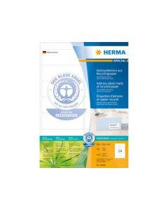 Etikett HERMA Miljö 99,1x38,1mm 1400/FP