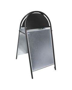 Gatuställ Gotic 50x70cm svart