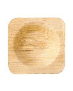 Palmbladstallrik djup PURE 6x6x1,3cm 25/FP