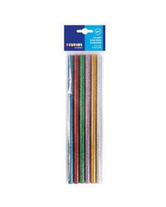 Limstänger 11mm sorterade färger 6/fp