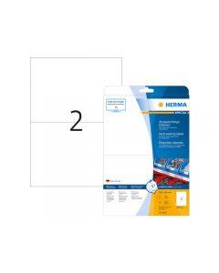 Etikett HERMA Slitstark 210x148mm  50/FP