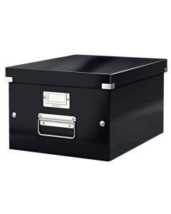 Förvaringslåda Click&Store medium svart
