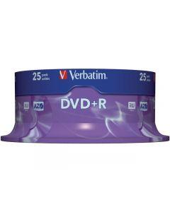 DVD+R VERBATIM 4,7GB 25/FP
