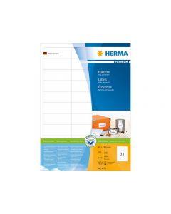 Etikett HERMA Premium 66x25,4mm 3300/FP