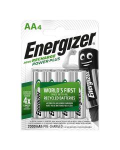 Batteri Laddbar ENERGIZER P-P AA 4/FP