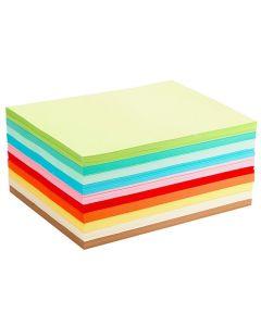 Tonppr.storsats ljusa färger A4 1000/FP
