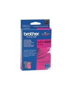 Bläckpatron BROTHER LC1100M magenta