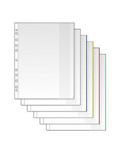 Plastficka Mapp A4 0,12mm vit 100/FP