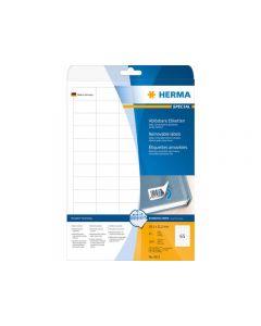 Etikett HERMA Movable 38,1x21,2mm 1625/FP
