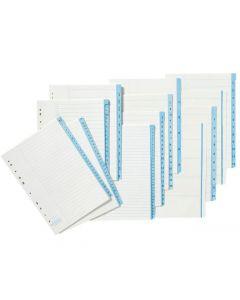Pappersregister A4 1-20 10/FP