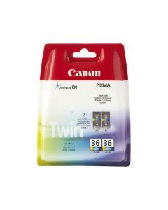 Bläckpatron CANON CLI-36 färg 2/FP