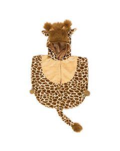 Maskeraddräkt Baby cape Giraff