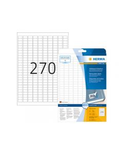 Etikett HERMA Movable 17,8x10mm 6750/FP