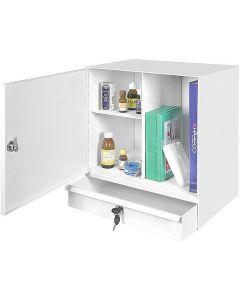 Medicinskåp MS1 med låda