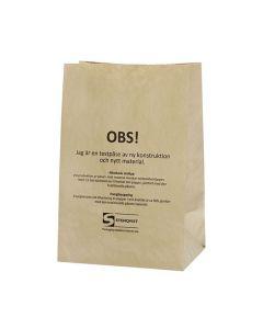 Kompostpåse SOS 200x140x300mm 80/FP