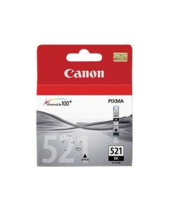 Bläckpatron CANON CLI-521BK svart