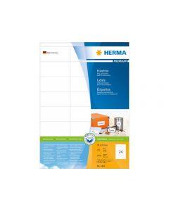 Etikett HERMA Premium 70x35mm 2400/FP