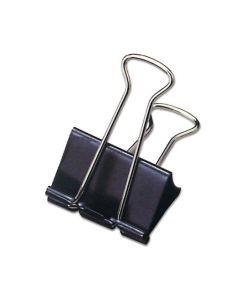 Pappersklämma STAPLES 25mm svart