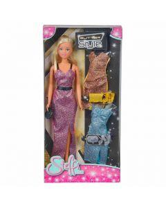 Dockkläder Steffi Glitter style