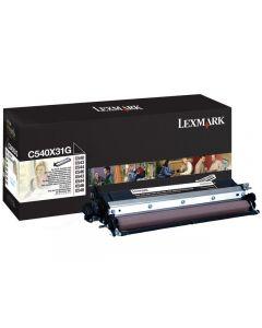 Developer LEXMARK C540X31G svart