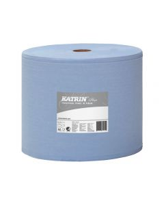 Industritorkrulle Plus XL 3-lag blå 370m