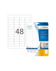 Etikett HERMA Outdoor 45,7x21,2mm 480/FP