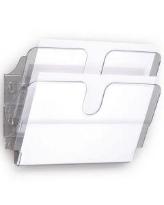 Blankettfack FlexiPlus A4L 2-fack transp