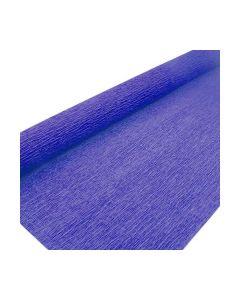 Kräppapper blå