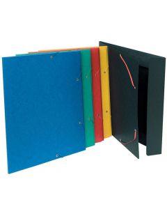 Gummibandsmapp 3-klaff 600g A3 olika färg