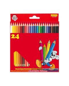 Färgpennor SENSE 24/FP